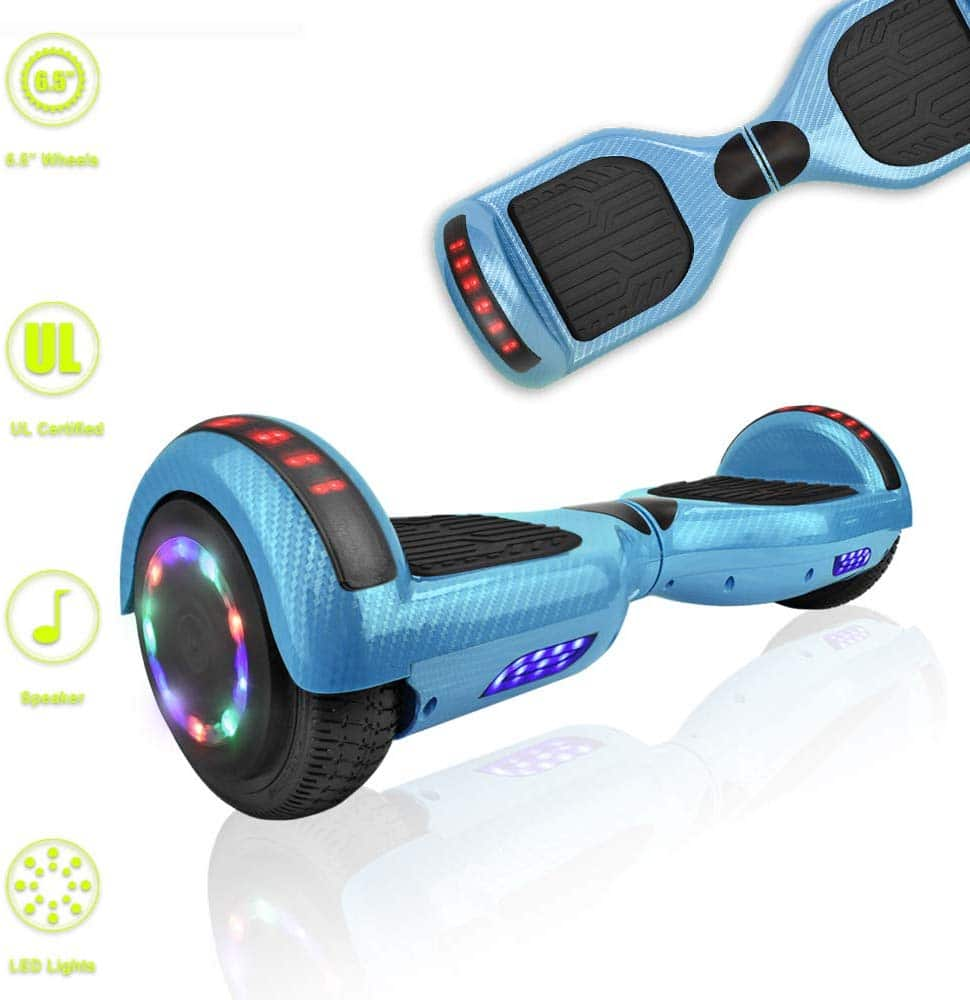 TechClic Hoverboard With Builtin Speaker