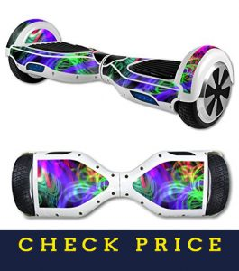 MightySkins For Mini Scooter HoverBoard - Neon Splatter