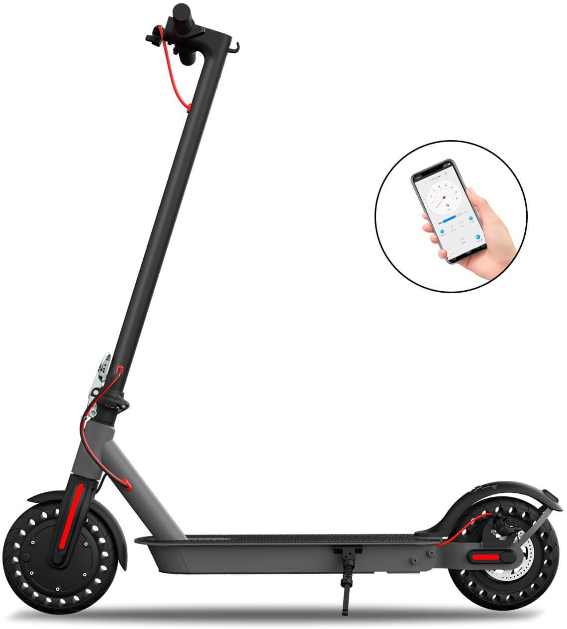 Hiboy-S2-Electric-Scooter-for-Climbing-Hills