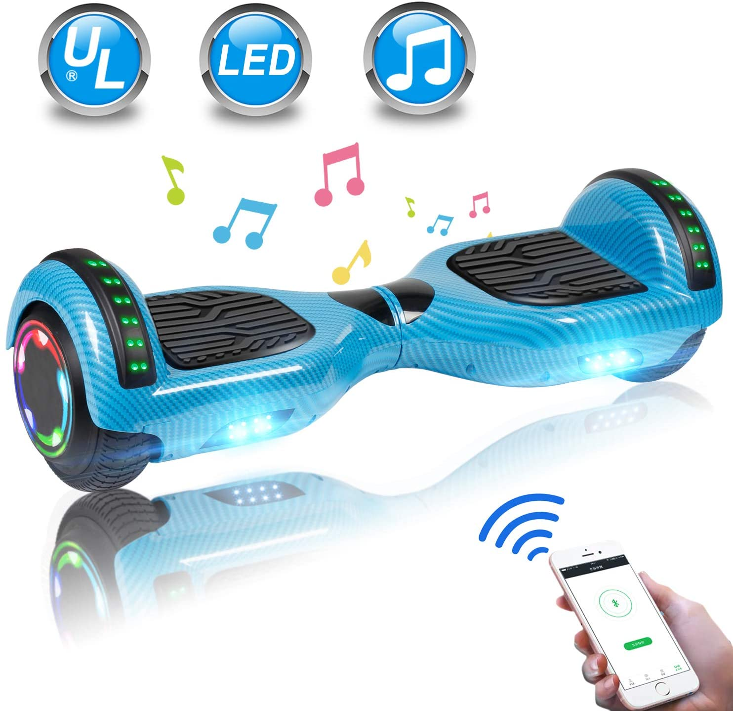UNI-SUN Cheap Hoverboard for Starters